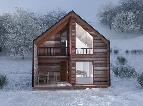 Casa Prefabricada Malalcahuello